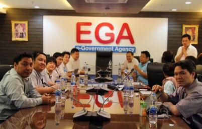 ดร.ศักดิ์ ผู้อำนวยการ สรอ.เปิดการประชุมกลุ่มความร่วมมือ CSA Thailand Chapter Meeting for CSA Summit 2012