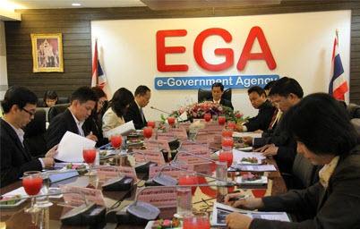 รัฐมนตรีไอซีที ห่วงใยภาครัฐ เร่งเดินสายตรวจเยี่ยม ติดตามการบริหารจัดการ EGA