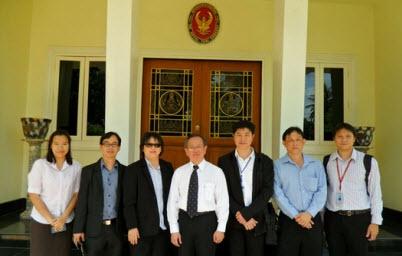 สรอ. เยี่ยมชมศูนย์ข้อมูลสารสนเทศ ศูนย์ราชการจังหวัดขอนแก่น หนองคาย สถานทูตไทยประจำประเทศลาว