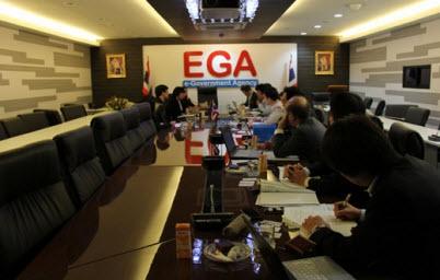 EGA หารือกับคณะทำงานจากญี่ปุ่นด้านโครงสร้างพื้นฐานเทคโนโลยีสารสนเทศหน่วยงานภาครัฐประเทศไทย