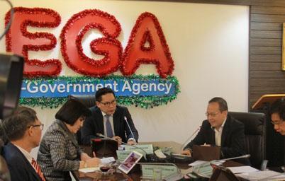 รัฐมนตรีไอซีที เร่งตรวจเยี่ยม EGA พร้อมหารือแนวทางการขับเคลื่อนรัฐบาลดิจิทัลประเทศไทย