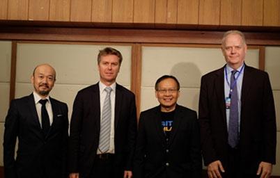 ผู้เชี่ยวชาญด้าน e-Government จากประเทศญี่ปุ่นร่วมเสวนาหารือแนวทางการพัฒนารัฐบาลดิจิทัล