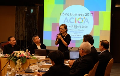 ประชุม Round Table ในหัวข้อ Doing Business in Thailand; Reference to The World Bank Indicators