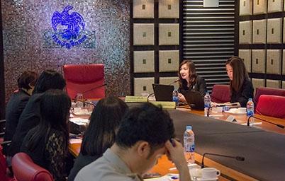 """อบรมโครงการ """"ระบบภาษีไปไหน"""" ระบบข้อมูลการใช้จ่ายภาครัฐ Thailand Government Spending ณ กรมบัญชีกลาง"""