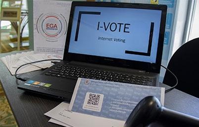 """EGA นำเสนอระบบ I-Vote เพื่อใช้ในการเลือกตั้งนอกราชอาณาจักร ในงานสัมมนา """"กงสุลโลก"""""""