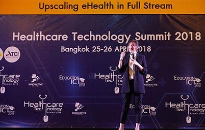 EGA ร่วมเป็นวิทยากรบรรยายและออกบูธกิจกรรมในงาน Healthcare Technology Summit 2018