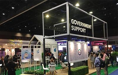 DGA นำบริการของภาครัฐ GOVERNMENT SUPPORT : NEW TO BUSINESS ร่วมจัดแสดงในงาน STARTUP THAILAND 2018