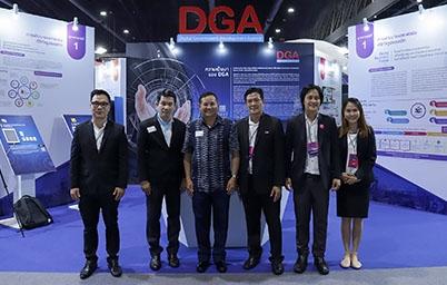 สำนักงานพัฒนารัฐบาลดิจิทัล นำบริการดิจิทัลภาครัฐร่วมออกบูธนิทรรศการในงาน Digital Thailand Big Bang 2018