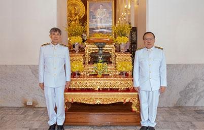 สำนักงานพัฒนารัฐบาลดิจิทัล (องค์การมหาชน)   ร่วมพิธีถวายผ้าพระกฐินพระราชทานสำนักนายกรัฐมนตรี ประจำปี 2561