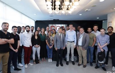 """DGA (สพร.) ให้การต้อนรับ คณาจารย์และนักศึกษามหาวิทยาลัยบูรพา และ Université de Montpellier ศึกษาดูงานหัวข้อ """"IT Management"""