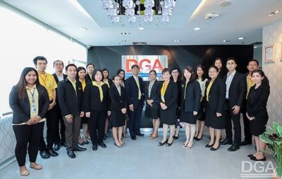 DGA ให้การต้อนรับ สำนักงานคดีล้มละลาย สำนักงานอัยการสูงสุด เข้าศึกษาดูงานด้านการให้บริการภาครัฐและการพัฒนารัฐบาลดิจิทัล