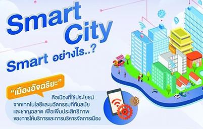 เปิดเป้าหมายที่ต้องไปให้ถึง โมเดลเทคโนโลยีพัฒนาเมืองสู่ Smart City ตั้งเป้าพัฒนา 100 เมือง ภายในปี 2565