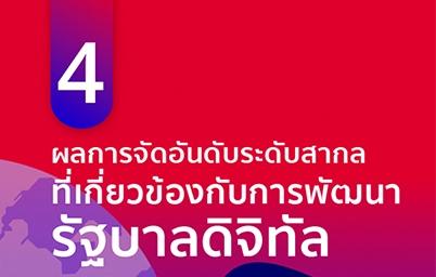 สถานะรัฐบาลดิจิทัลไทยในเวทีโลกปี 2561