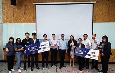 โครงการ Asia Open-data challenge 2019 ประกาศผลผู้ชนะเลิศแล้ว!! ทีม Black Cat จากไทยซิว 2 รางวัล