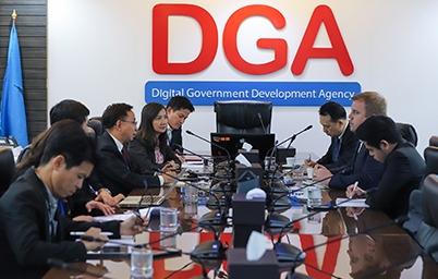 DGA เดินหน้าความร่วมมือด้านการให้บริการภาครัฐทางอิเล็กทรอนิกส์กับกระทรวงเศรษฐกิจและการสื่อสารเอสโตรเนีย