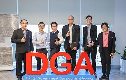 DGA ให้การต้อนรับ ITD เข้าเยี่ยมชมพร้อมรับฟังแนวทางการพัฒนาศูนย์บริการแบบเบ็ดเสร็จ
