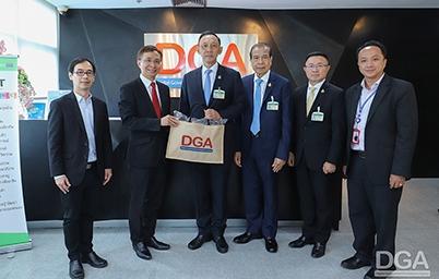 DGA ให้การต้อนรับคกก.ด้านเทคโนโลยีสารสนเทศ การสื่อสาร และการโทรคมนาคม วุฒิสภาเข้าเยี่ยมชมเพื่อรับทราบข้อมูลเกี่ยวกับแผนขับเคลื่อนรัฐบาลดิจิทัล