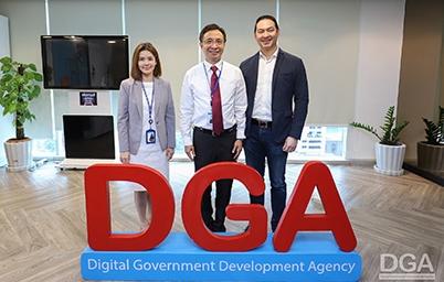 DGA ให้การต้อนรับ คุณธารินทร์ ธนียวัน กรรมการผู้จัดการใหญ่ Grab แชร์ไอเดีย Data Driven Product Design