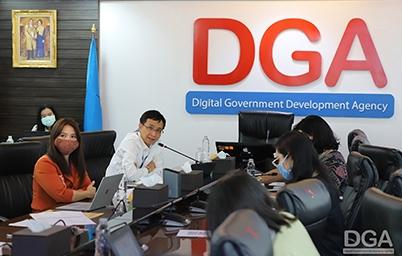 DGA ร่วมกับสดช. จัดประชุมหารือแนวทางการเปิดเผยข้อมูลเปิดภาครัฐในรูปแบบดิจิทัลต่อสาธารณะผ่านเว็บไซต์ data.go.th
