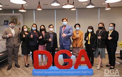 DGA ให้การต้อนรับคณะผู้บริหารและเจ้าหน้าที่สำนักงานคณะกรรมการกิจการกระจายเสียง กิจการโทรทัศน์ และกิจการโทรคมนาคมแห่งชาติ (สำนักงาน กสทช.)