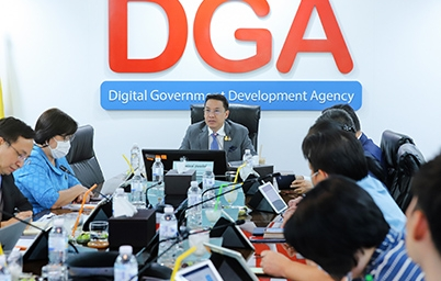 รมว.ดีอีเอส ให้เกียรติเป็นประธานการประชุมแนวทางการพัฒนาระบบหนังสือเดินทางสุขภาพ Digital Health Passport Application (DHP) ครั้งที่ 1