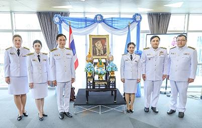 DGA โดย ดร. สุพจน์ เธียรวุฒิ ผู้อำนวยการสำนักงานพัฒนารัฐบาลดิจิทัล พร้อมคณะผู้บริหาร และเจ้าหน้าที่ ร่วมลงนามถวายพระพรเนื่องในวันเฉลิมพระชนมพรรษาสมเด็จพระนางเจ้าสิริกิติ์ พระบรมราชินีนาถ พระบรมราชชนนีพันปีหลวง เนื่องในโอกาสวันเฉลิมพระชนมพรรษา 12 สิงหาคม 2563