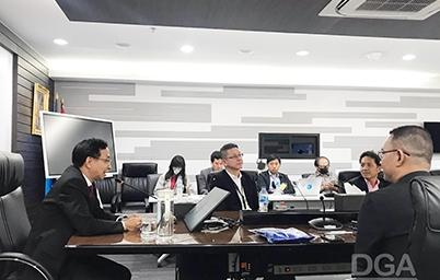 DGA ให้การต้อนรับคณะผู้บริหารจากสมาคมไทยไอโอที (Thai IoT Association)