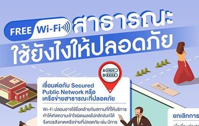 Free Wi-Fi สาธารณะ ใช้ยังไงให้ปลอดภัย