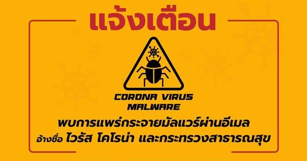 Corona-virus-Malware