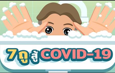 7 ถูสู้ Covid-19 คุณหลวงมาชวนล้างมือให้ถูกวิธีกัน