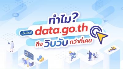 เว็บไซต์ data.go.th เปิด API ให้ดึง Dataset ได้สะดวกเลยนะ