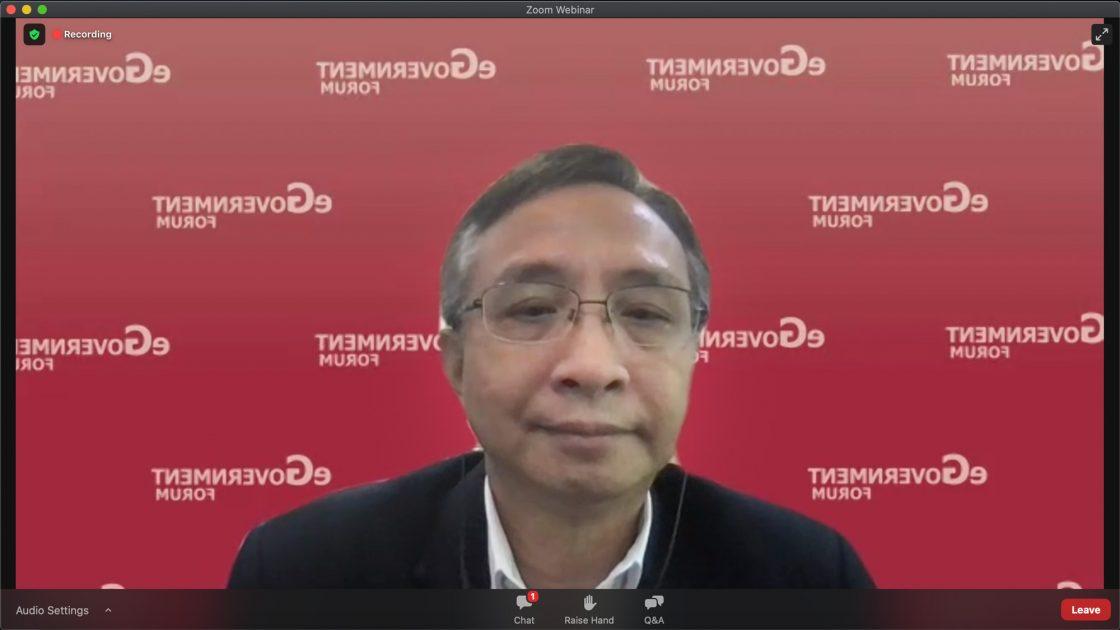 ดร.สุพจน์ เธียรวุฒิ ผู้อำนวยการสำนักงานพัฒนารัฐบาลดิจิทัล